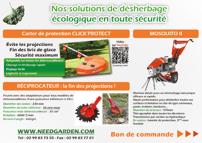 Carter de protection, Réciprocateur, Mosquito II
